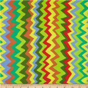 Kaffe Fassett Sound Waves Bright- Per Quarter Metre